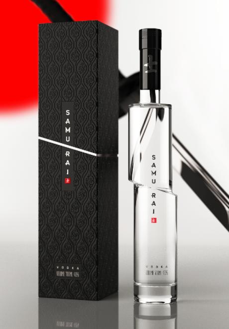 arthur schreiber package design samauri vodka